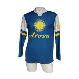 Arosa Nostalgie Hockey Trikot von Souvenir Shop Arosa - Aroser Souvenirs, Andenken und Geschenke