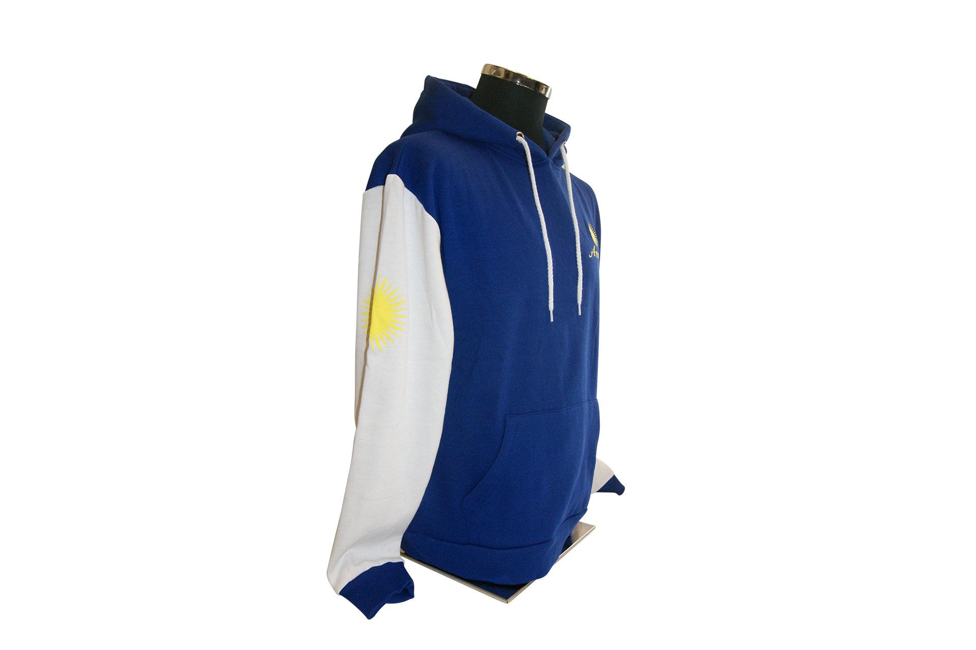 bc03f408199a6f Arosa Hoody Blau Weiss von Souvenir Shop Arosa - Aroser Souvenirs