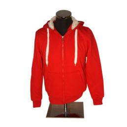 Arosa Zip Hoody Rot von Souvenir Shop Arosa - Aroser Souvenirs, Andenken und Geschenke