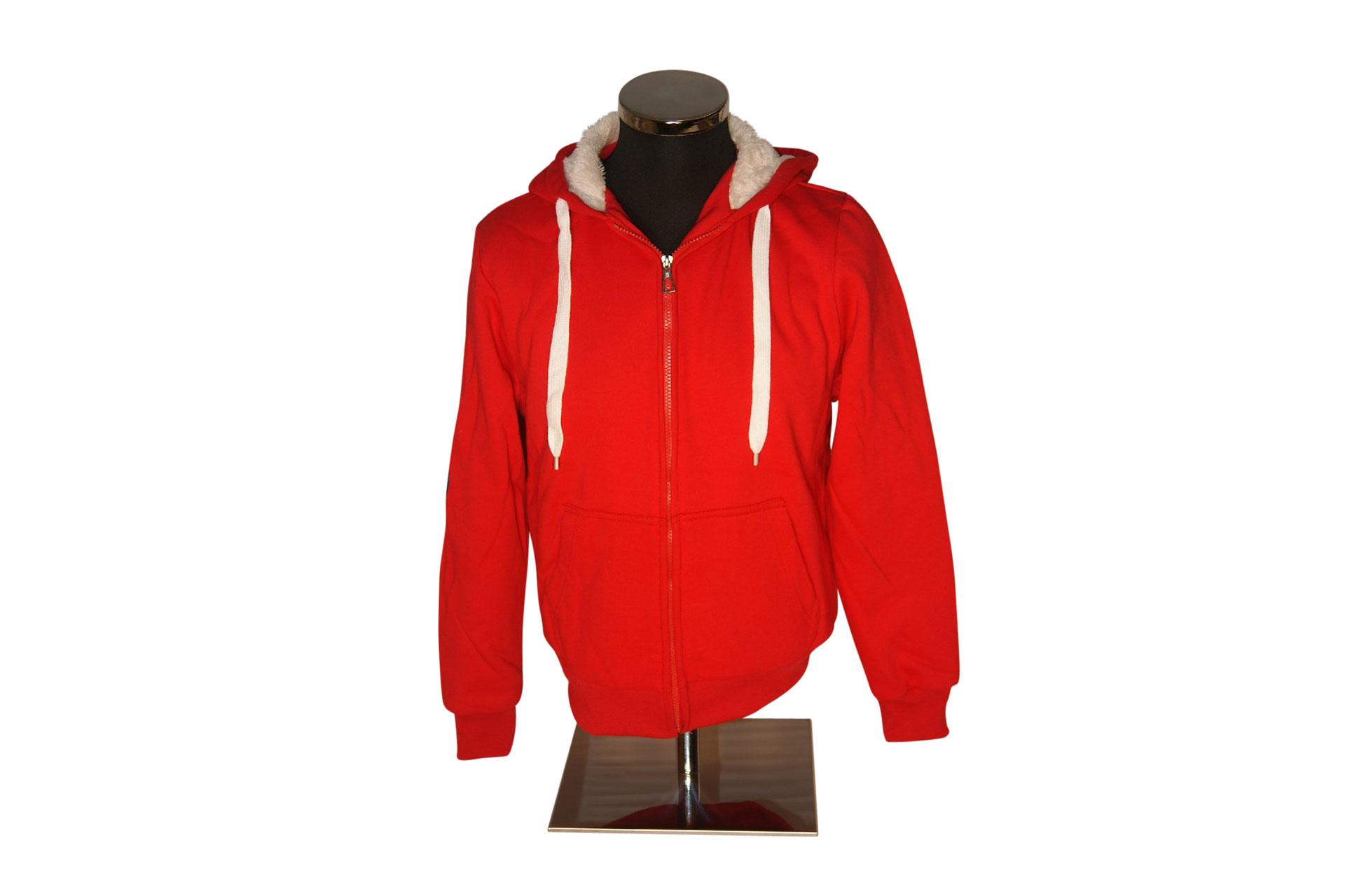4cc54700c5d646 Arosa Zip Hoody Rot von Souvenir Shop Arosa - Aroser Souvenirs