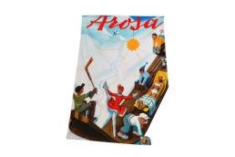 Souvenir Shop Arosa Nostalgie Badetuch Aroser Souvenirs Geschenke und Andenken