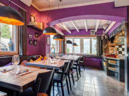 Restaurant Aifach Arosa Innenansicht