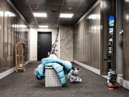 Gisler Sport Arosa Ladenlokal Skidepot Hotel Valsana Sportgeschäft