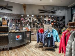Gisler Sport Arosa Ladenlokal Hotel Valsana Sportgeschäft Ski Bike Wandern