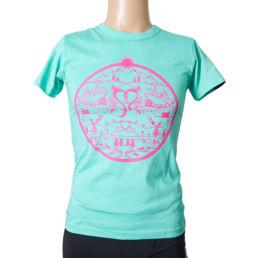 Arosa Lenzerheide Frauen T-Shirt Mint Pink
