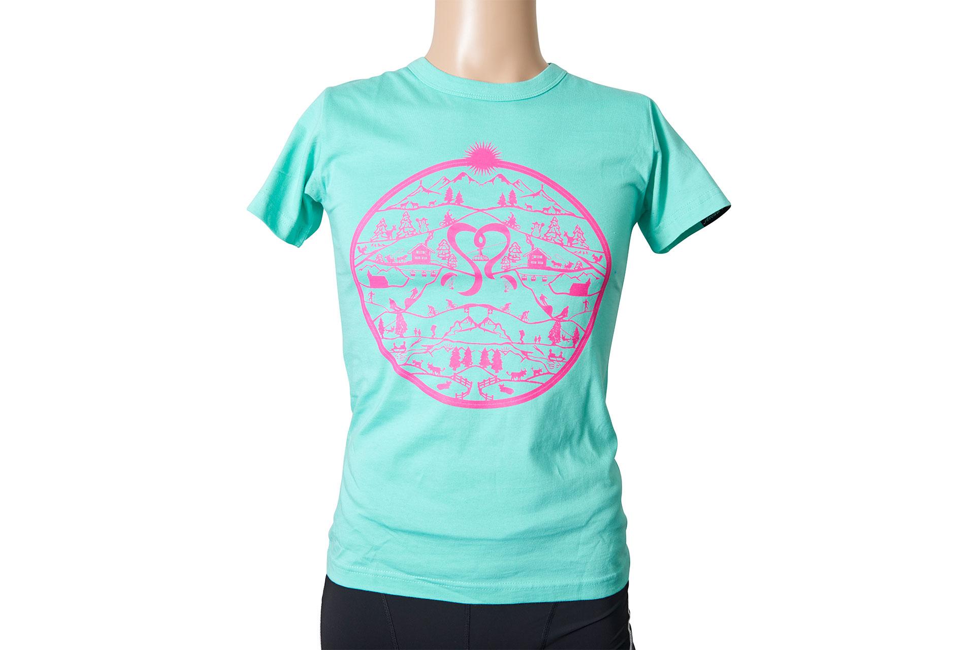 0c076a5f7ba59c T-Shirt Damen Mintgrün online bestellen - arosa.shop