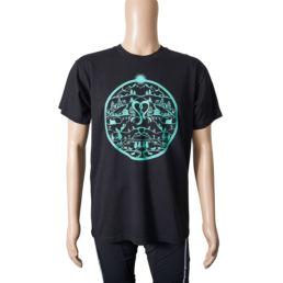 Arosa Lenzerheide Herren T-Shirt Schwarz Grün