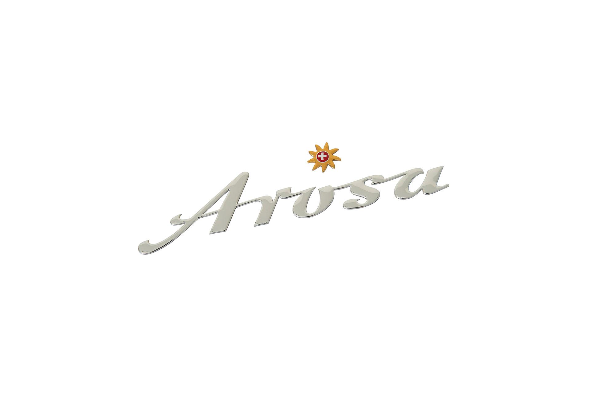 Autokleber Arosa Silber